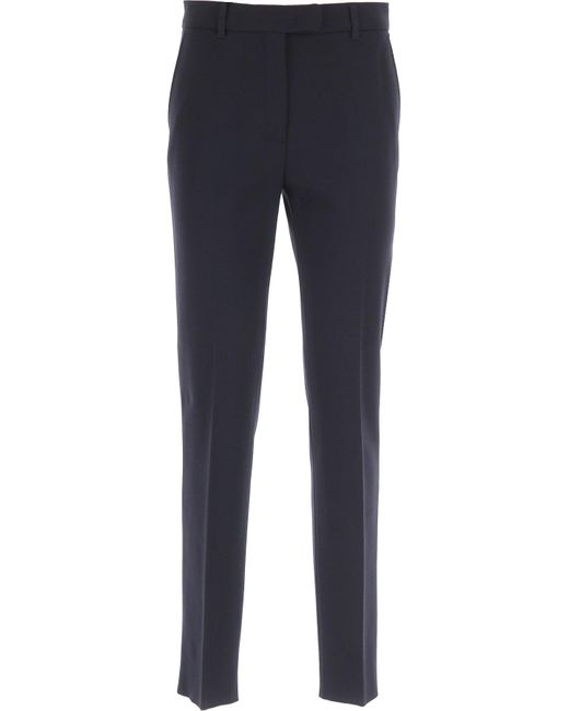 Max Mara Blue Pants For Women