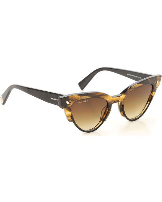 Gafas de Sol Baratos en Rebajas DSquared² de color Multicolor