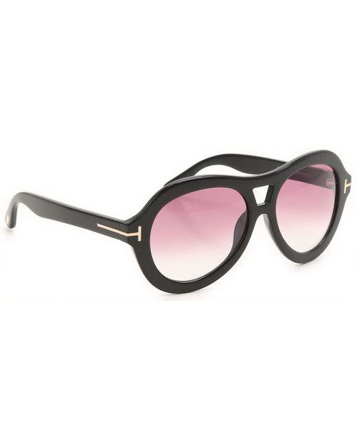 Gafas y Lentes de Sol Baratos en Rebajas Tom Ford de color Black