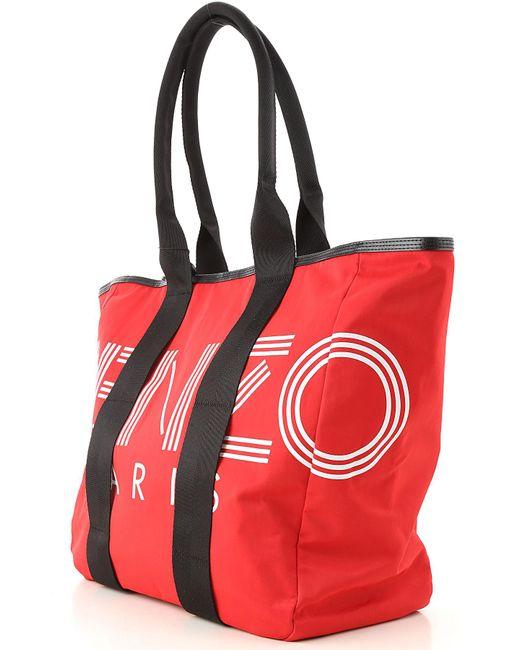 Bolso Tote Bag KENZO de color Red