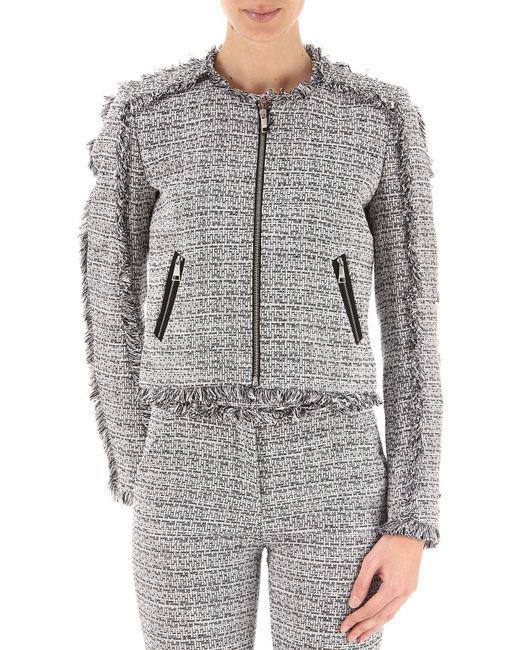 Karl Lagerfeld - Gray Clothing For Women - Lyst