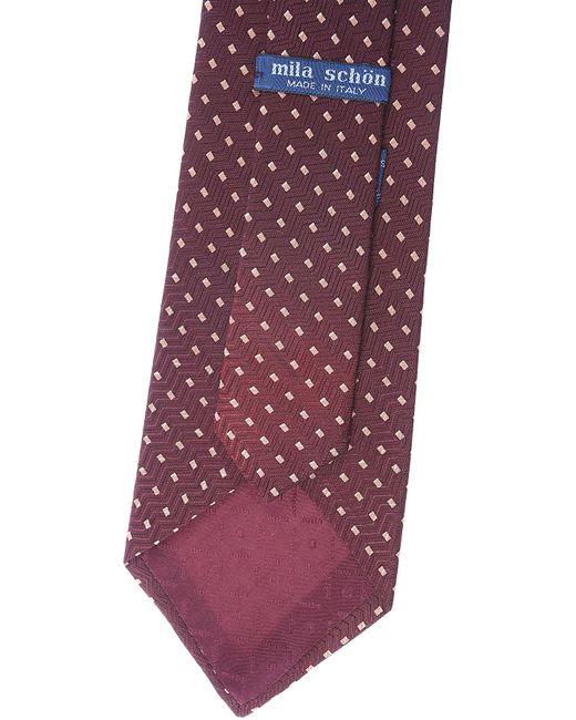 Corbatas Baratos en Rebajas Mila Schon de hombre de color Brown