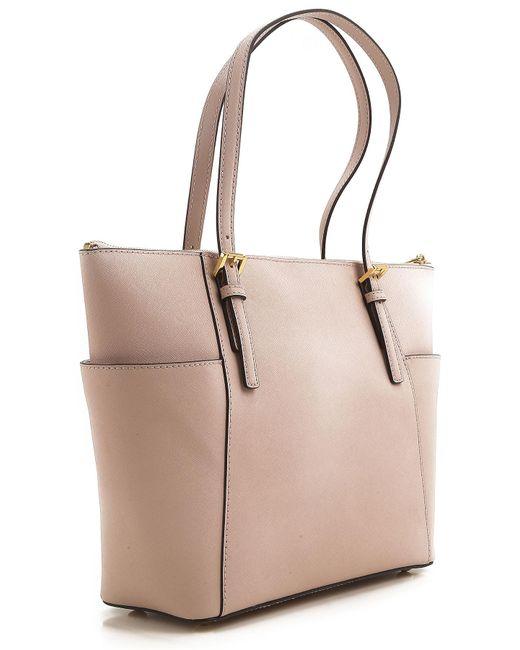 1968979afb0f ... Michael Kors - Pink Tote Bag - Lyst ...
