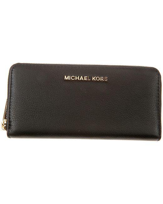 Michael Kors - Black Wallets For Women - Lyst