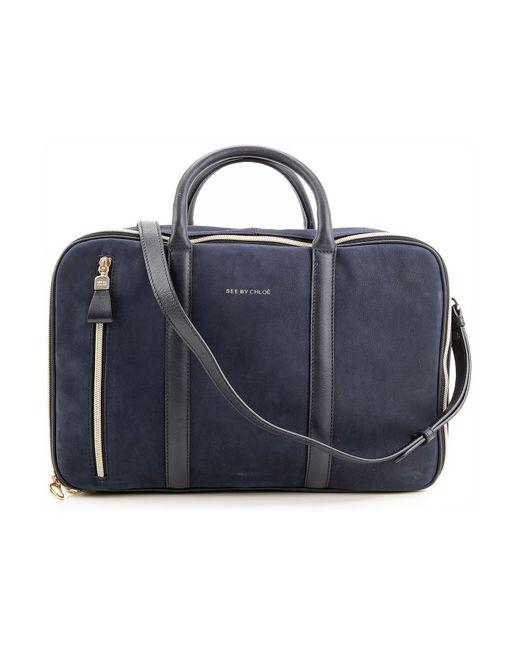 Chloé - Blue Shoulder Bag For Women On Sale - Lyst