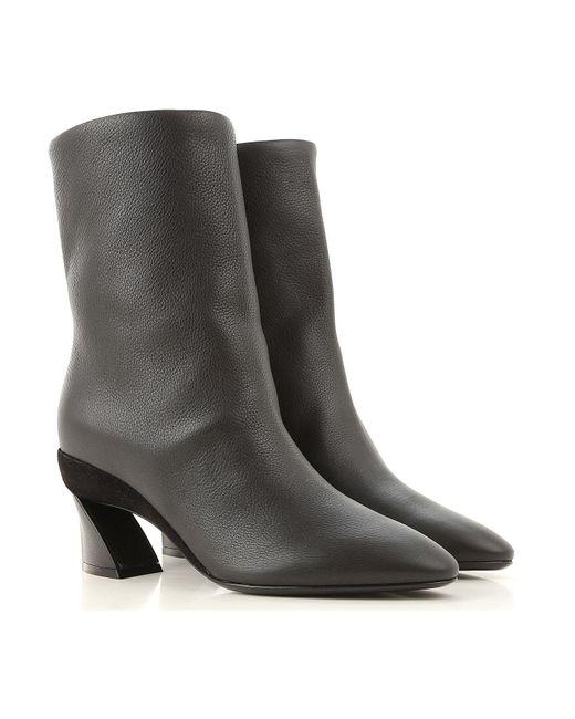 Ferragamo Black Stiefel für Damen