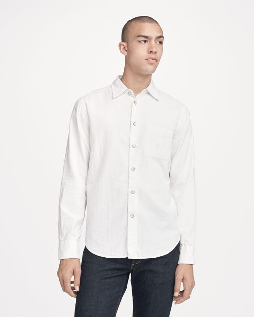 Rag & Bone | Blue Standard Issue Beach Shirt for Men | Lyst