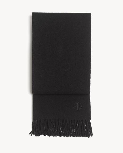 Rag & Bone - Black Classic Wool Scarf for Men - Lyst