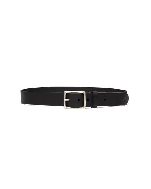 Rag & Bone | Black Rugged Belt Brass for Men | Lyst