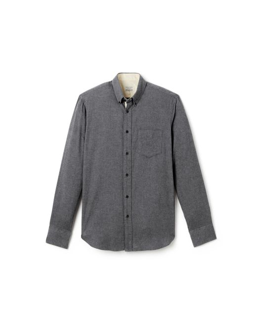 Rag & Bone | Gray Standard Issue Shirt - Brushed Flannel for Men | Lyst