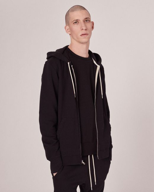 Rag & Bone | Black Standard Issue Sweatshirt for Men | Lyst
