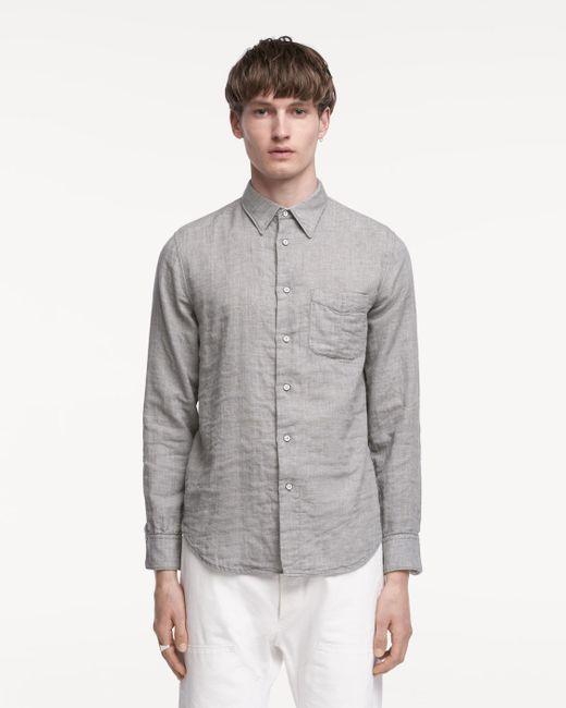 Rag & Bone | Gray Beach Shirt for Men | Lyst