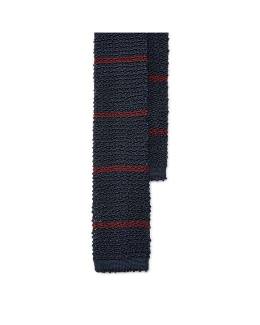 Polo Ralph Lauren | Black Striped Knit Silk Tie for Men | Lyst