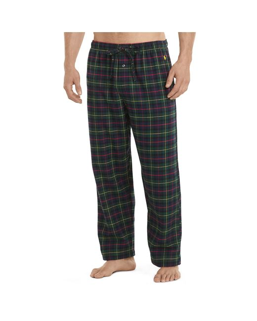 Polo Ralph Lauren Flannel Pajama Pant In Multicolor For