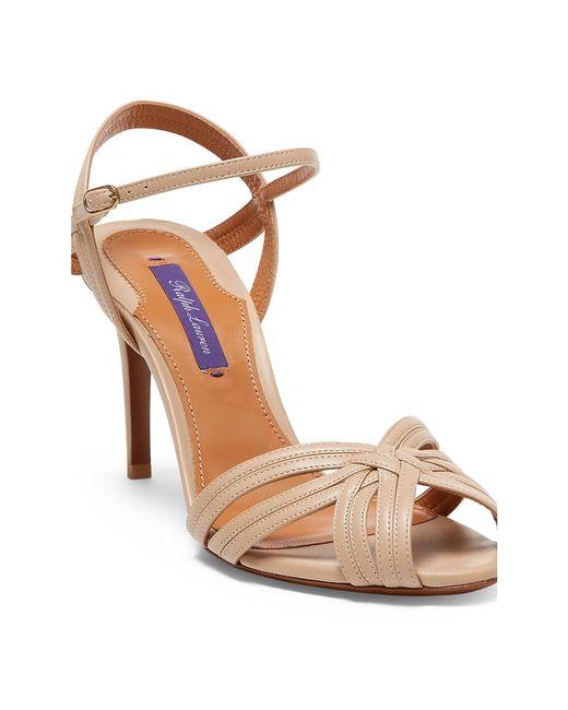 Ralph Lauren | Multicolor Astraia Nappa Leather Sandal | Lyst