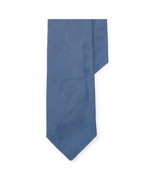 Polo Ralph Lauren   Blue Pin Dot Silk Narrow Tie for Men   Lyst