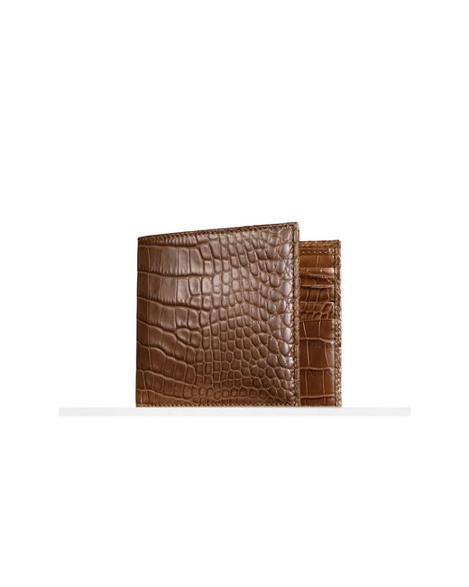Pink Pony | Natural Alligator Hipster Wallet for Men | Lyst