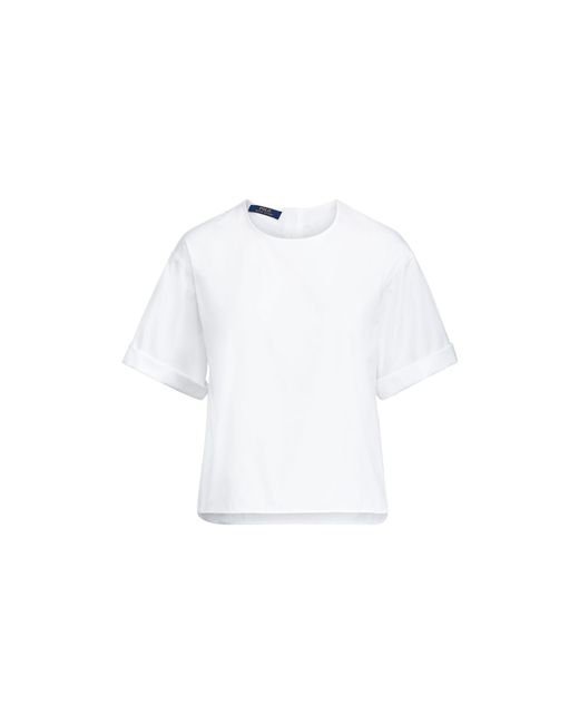 Polo Ralph Lauren | White Cotton Broadcloth Shirt | Lyst