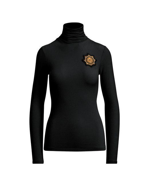 Polo Ralph Lauren - Black Crest Turtleneck Sweater - Lyst