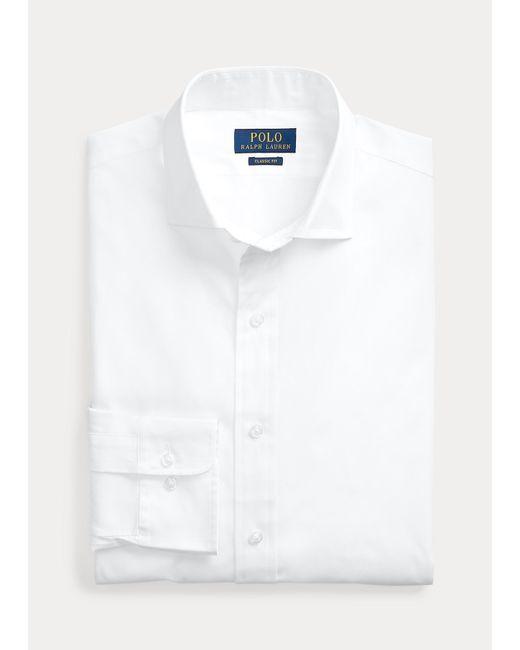 Polo Ralph Lauren Slim-Fit-Hemd aus merzerisierter Baumwolle in White für Herren
