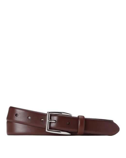 Ceinture habillée Harness en cuir Polo Ralph Lauren pour homme en coloris Brown