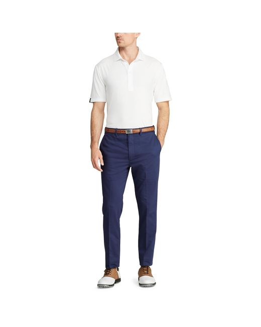 Ralph Lauren Blue Tailored Fit Chino Golf Pant for men