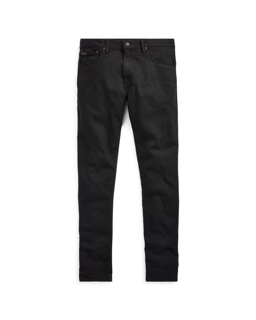 f17ddc28a Polo Ralph Lauren - Black Sullivan Slim Stretch Jean for Men - Lyst ...