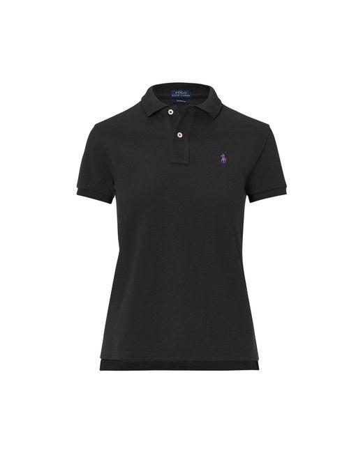 Polo Ralph Lauren - Black Classic Fit Mesh Polo Shirt - Lyst