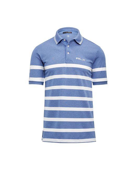 Ralph Lauren | Blue Custom Fit Tech Piqué Polo for Men | Lyst