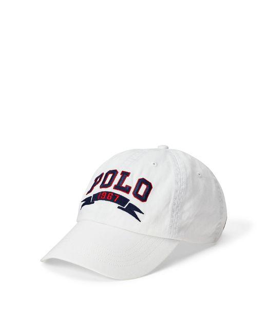 Polo Ralph Lauren | White Polo 1967 Chino Baseball Cap for Men | Lyst
