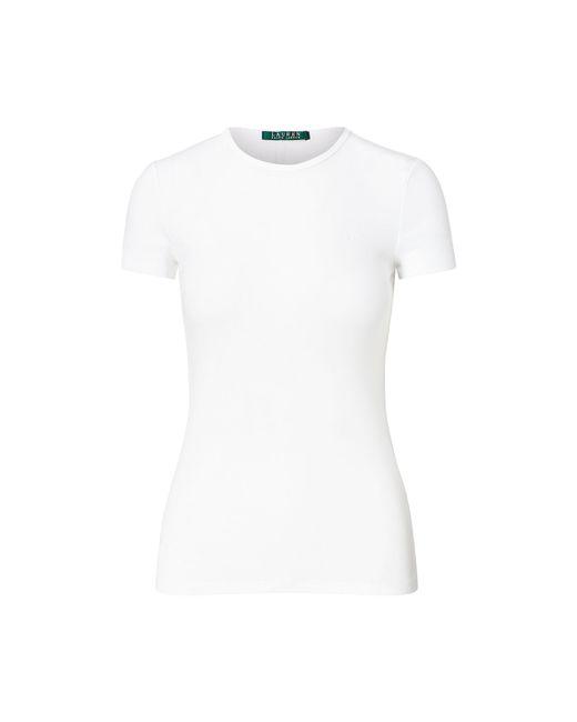 Ralph Lauren - White Cotton Short-sleeve Tee - Lyst