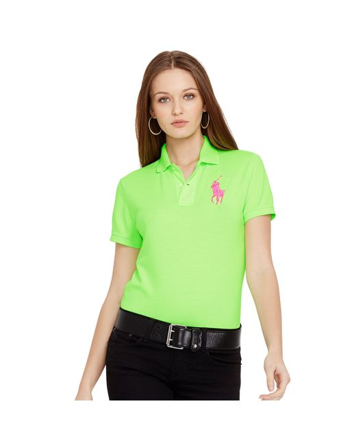 Ralph Lauren   Pink Pony Classic Fit Polo   Lyst