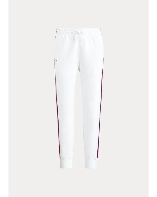 Jogger Wimbledon De Felpa Ralph Lauren Golf de color White