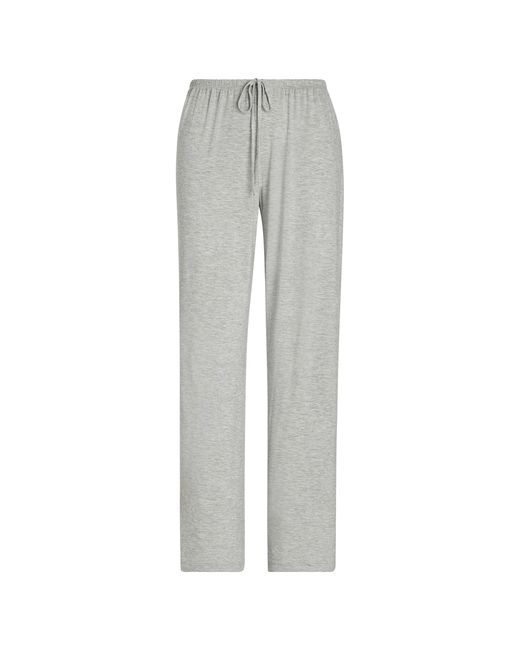 Ralph Lauren Gray Print Drawstring Sleep Trouser