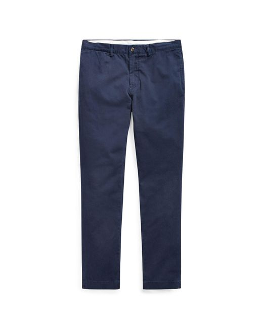 Polo Ralph Lauren - Blue Slim Fit Cotton Chino for Men - Lyst