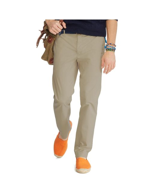 Polo Ralph Lauren | Natural Slim-fit Stretch Chino for Men | Lyst