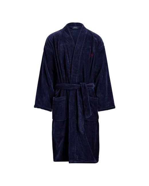 Polo Ralph Lauren - Black Tall Cotton Robe for Men - Lyst