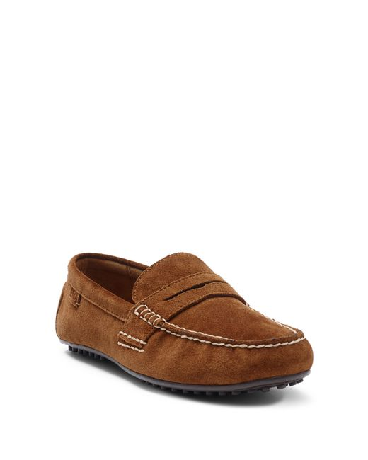 Polo Ralph Lauren | Brown Suede Loafer for Men | Lyst