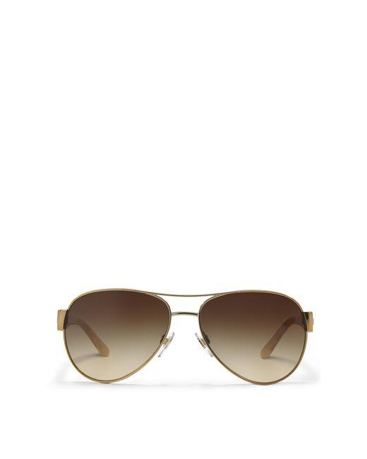 Ralph Lauren | Metallic Pilot Sunglasses | Lyst