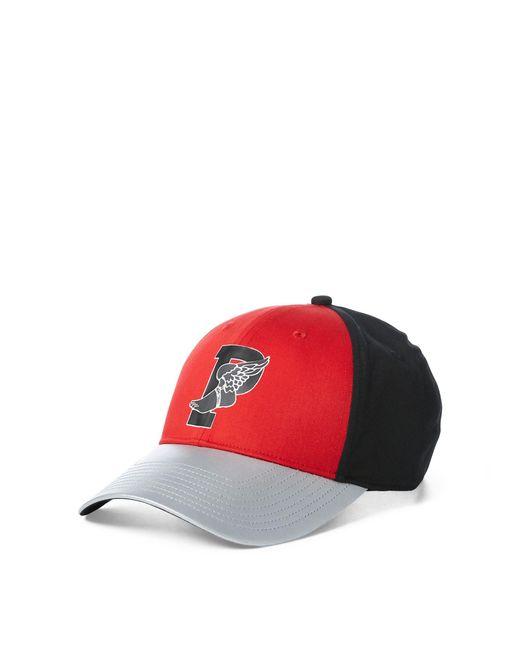 5eb4888c264 Polo Ralph Lauren - Red Colour-blocked P-wing Cap for Men - Lyst ...