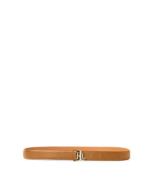 Ralph Lauren - Multicolor Carrington Leather Belt - Lyst