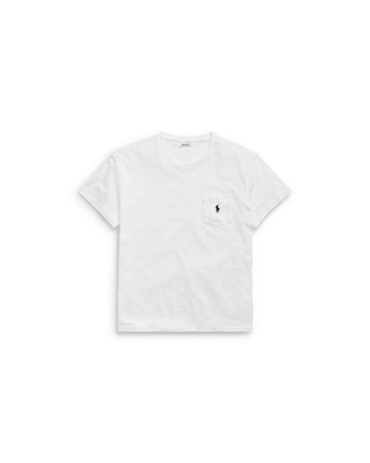Polo Ralph Lauren | White Classic-fit Cotton Pocket Tee for Men | Lyst