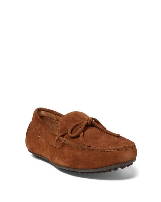 Polo Ralph Lauren | Brown Woodford Suede Driver for Men | Lyst