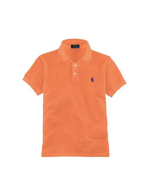 Polo Ralph Lauren | Orange Slim-fit Stretch Mesh Polo for Men | Lyst