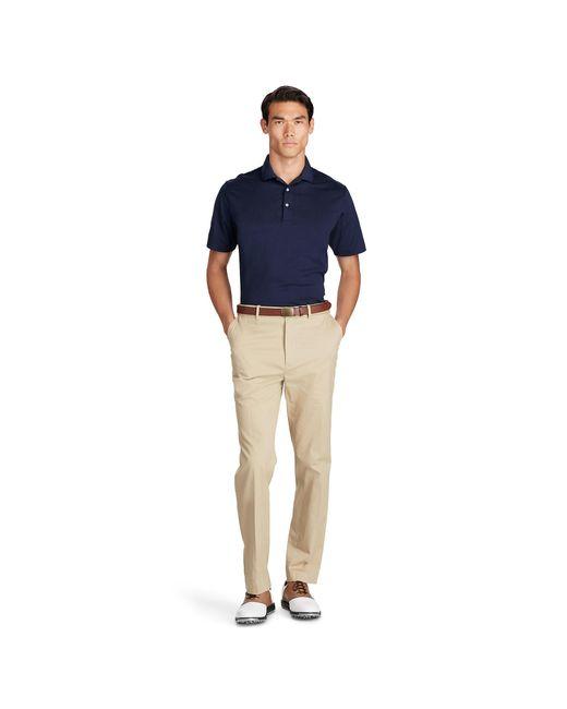 Ralph Lauren | Blue Performance Jersey Polo Shirt for Men | Lyst