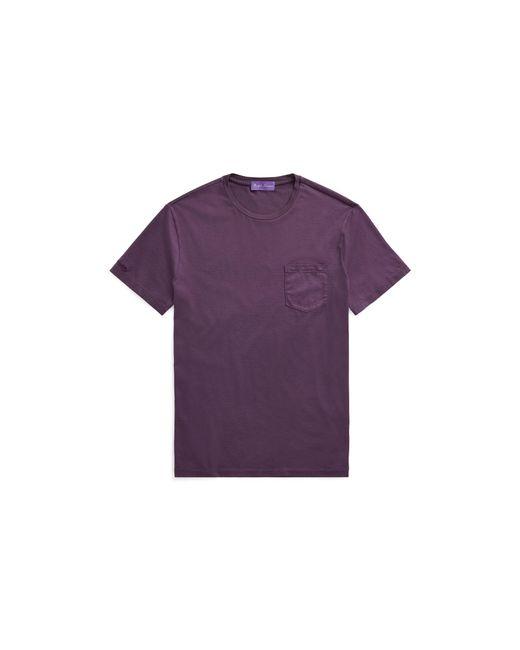 Ralph Lauren Purple Label - Purple Custom Fit Cotton T-shirt for Men - Lyst