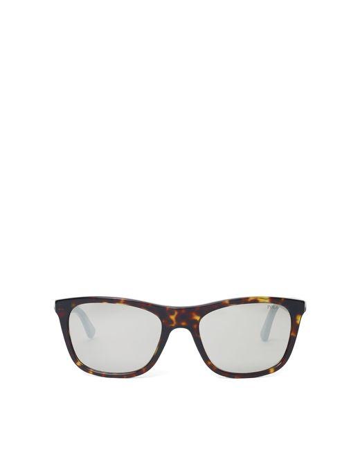 Polo Ralph Lauren - Gray Reflective-lens Sunglasses for Men - Lyst