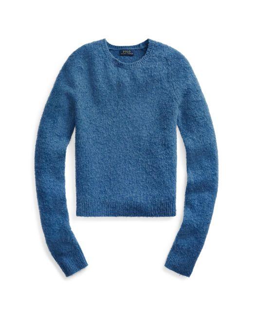 Polo Ralph Lauren Blue Wool Long-sleeve Jumper