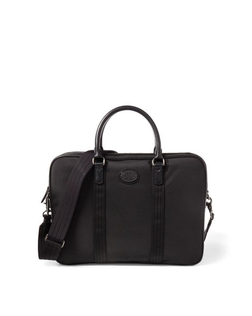 polo ralph lauren thompson briefcase in black for men lyst. Black Bedroom Furniture Sets. Home Design Ideas