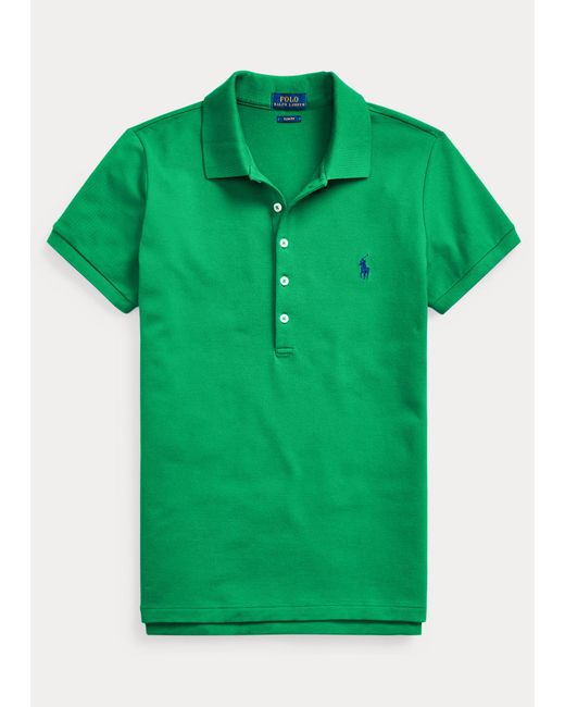 Polo Slim Fit Polo Ralph Lauren de color Green
